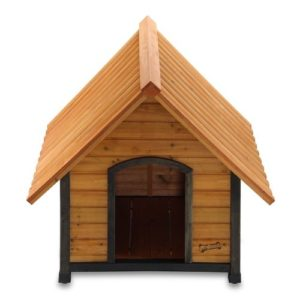 Pet Squeak Arf Frame Dog House Medium Door