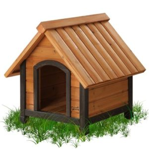 Pet Squeak Arf Frame Dog House XSmall Grass
