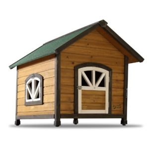 Pet Squeak Doggy Den Dog House Raised Floor