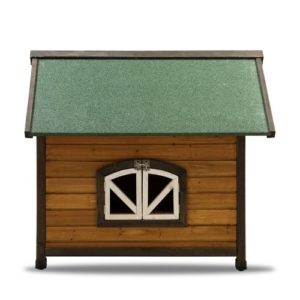 Pet Squeak Doggy Den Dog House Side Window