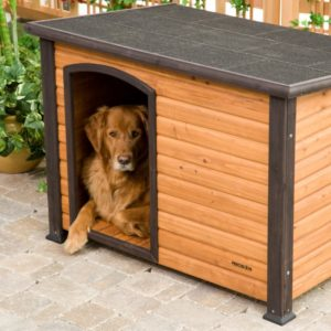Precision Pet Extreme Outback Log Cabin Dog House Giant 2
