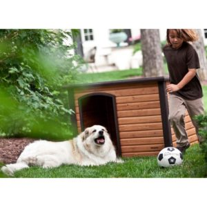 Precision Pet Extreme Outback Log Cabin Dog House Giant