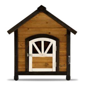 Pet Squeak Doggy Den Dog House Door